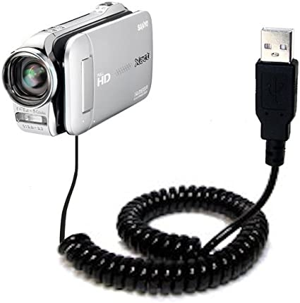USB PC Data SYNC Cable Cord For Sanyo Xacti VPC-GH2 e//x GH2gx GH2ax GH2px Camera