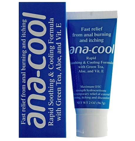 Ana-Cool Anti-Itch & Burn Hydrocortisone Cream