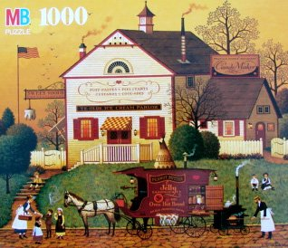 Charles Wysocki's Americana 1000pc. Sugar and Spice-Eat Everything Twice Puzzle