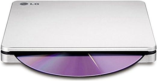 Silver LG AP70NS50 8x DVDRW DL USB 2.0 Slim External SuperMulti Blade Drive