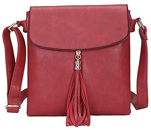 Pour Shop Rouge Big M Femme Main Bandoulière À Handbag Taille Sac P1wx4wqpY