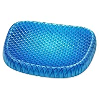 CADITEX Gel Sitter Sitzkissen. Antirutschkissen Perfekt für Bürostühle, fürs Auto oder ALS Rollstuhlbezug.