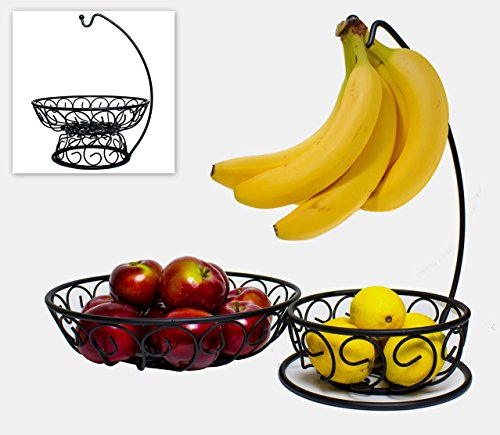 3-in-1-Fruit-Bowl-With-Banana-Hanger-2-Large-and-Convenient-Wire-Fruit-Baskets-For-Fruits-Vegetables-or-Decorative-Filler-With-Banana-Holder-Kitchen-Home-Decor-Accessory