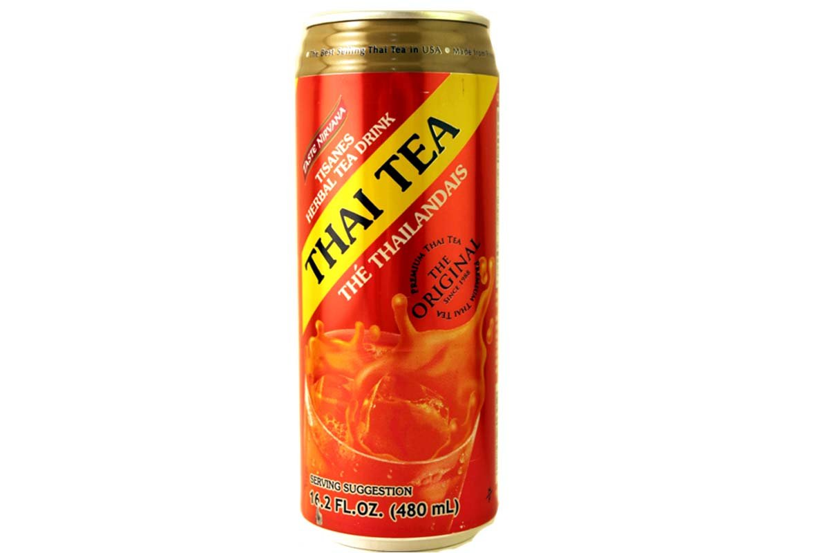 Thai Tea Original (Tisanes Herbal Tea Drink) - 16.2fl Oz (Pack of 12) by Taste Nirvana