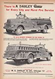 For every city and rural fire service W S Darley Champion IHC Fire Truck ad 1953