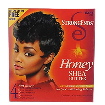 HONEY SHEA BUTTER Super/Coarse Sensitive Scalp DOUBLE KIT