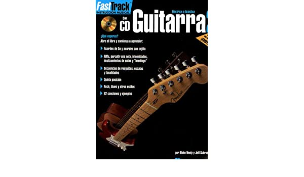 FAST TRACK - Metodo para Guitarra 2º (Inc.CD): FAST TRACK: 9780634051302: Amazon.com: Books