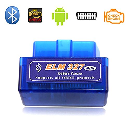 MINI OBD2 OBDII V2.1 Auto Diagnostic Scanner Code Reader/Scan Tool Check Engine Light for iOS & Android