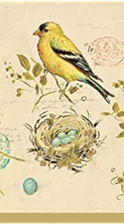 36 pcs Craftmaster Sketchbook Bird Guest Towels Buffet Napkins