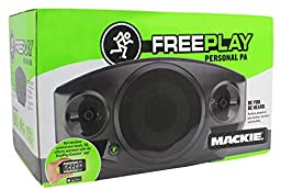 Mackie Freeplay Bluetooth Powered 300w Rechargeable PA Speaker System + Carry Bag