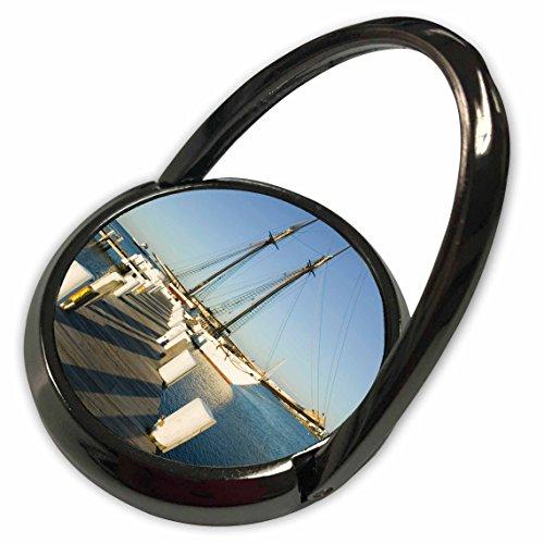 Ma Harbor - 3dRose Danita Delimont - Harbors - MA, Marthas Vineyard, Vineyard Haven Harbor - US22 WBI0435 - Walter Bibikow - Phone Ring (phr_90992_1)