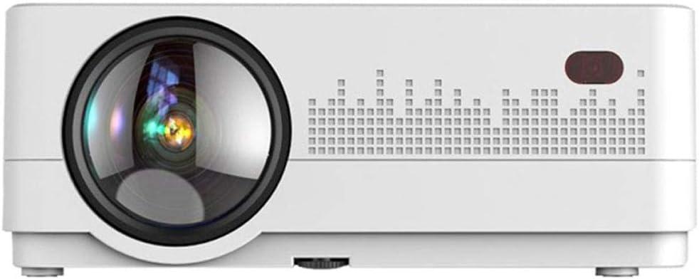PAMDQ Pantalla LCD a Color de 4 Pulgadas Proyector Inteligente HD ...