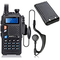 BAOFENG UV-5X UHF VHF Dual Band Dual Watch Two-Way Radio FM Function with 1 extra Original Battery