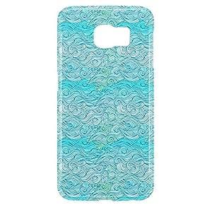 Waves Samsung S6 3D wrap around Case - Design 7