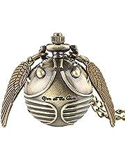 Pocket Watch Quartz Naszyjnik Retro Chain Pocket Watch Vintage Klasyczne Spersonalizowane Mezczyzni Kobiety Chlopcy Dziewczeta prezent, bizuteria i akcesoria komputerowe