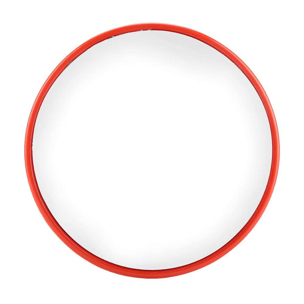 Miroir de Circulation, Miroir de Sécurité Convexe Diamètre 60/45/30cm avec un Grand Angle 130°pour Surveillance des Lieux Publics Sécurité de Routier Rue Magasin (Diamètre: 60cm) Zerone