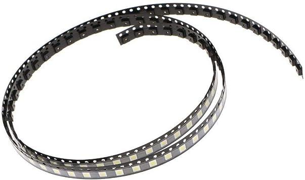 SODIAL 100Pzs 3535 Smd Perlas de La Lampara 3V Especialmente Para Tira de Luz de Fondo de Tv Led, Reparar Tv: Amazon.es: Bricolaje y herramientas