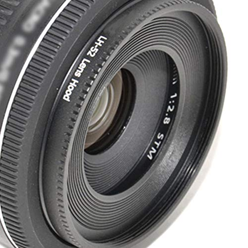 Es-52 Metal Lens Hood Shade for Canon EF-S 24mm F2.8 STM Ef for Canon 40mm Ef F//2.8 Lens