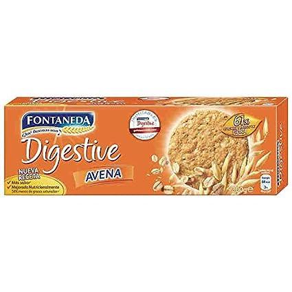 Fontaneda Digestive - Galleta con Copos de Avena, 300 g: Amazon.es: Alimentación y bebidas
