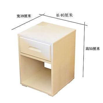 Weißer Nachttisch Mini Einfach Modern Kleine Huxing Schlafzimmer Weiß  Massivholz Ultra Narrow Seitenschrank Nachtschrank D