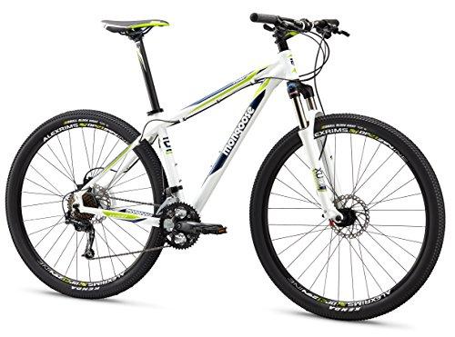 Mongoose Men's TYAX Expert Mountain Bicycle, White, 16'/Small/29'