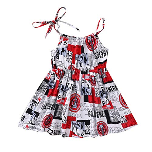 Respctful✿ Infant Baby Girl Clothes Lace Halter Backless Jumpsuit Princess Sleeveless Romper Bodysuit Sunsuit Outfits Set Red