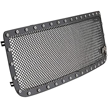 eag rivet black stainless steel wire mesh grille fit for 94-98 gmc c1500 /  2500/3500 / 94-98 gmc k1500 / 2500/3500