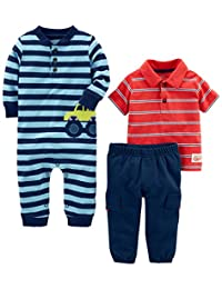 Simple Joys by Carter's Boys' 3-Piece Playwear Set