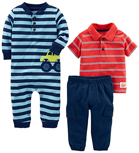 Simple Joys by Carter's Boys' 3-Piece Playwear Set,