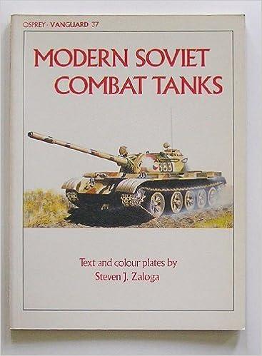 Modern Soviet Combat Tanks (Vanguard) by Steven J. Zaloga (1984-01-01)