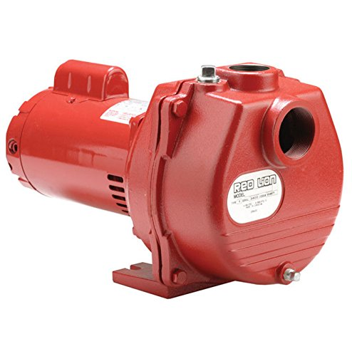 Red Lion 89 GPM 2 HP Self-Priming Cast Iron Sprinkler Pump Cast Iron Sprinkler Pump
