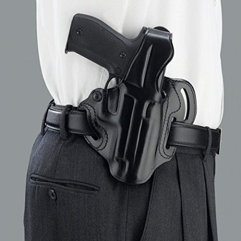 (Galco Cop 3 Slot Holster for 1911 5-Inch Colt, Kimber, para, Springfield (Black, Right-Hand) )