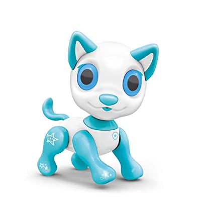 ThinIce Rechargeable Music Interactive Communication Cartoon Animal Dog Robot Puppy Dog Toy for Kids, Children, Girls, Boys : Baby