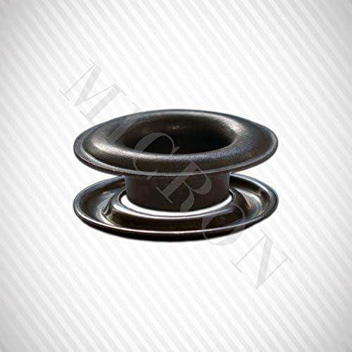 "Brass Self-Piercing Grommets /& Washers 500 Pcs Set Per Bag Micron #1 5//16/"""