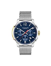 Coach Mens Bleecker Analog Dress Quartz Watch (Imported) 14602022