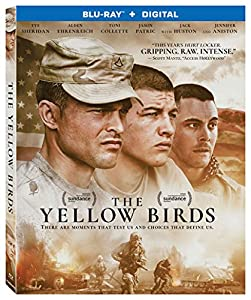 Cover Image for 'Yellow Birds, The [Blu-ray + Digital]'