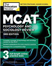 MCAT Psychology and Sociology Review: Complete Behavioral Sciences Content Review + Practice Tests (Graduate Test Prep)