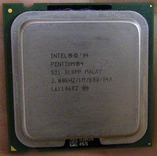 Lga775 Pentium Intel 4 Processor (Intel Pentium 4 521 2.8GHz 800MHz 1MB LGA775 CPU, OEM)