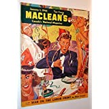 Maclean's, Canada's National Magazine, January 1, 1946