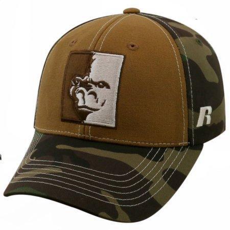 State Cap Pittsburg (NCAA University of Pittsburg State Gorillas Mossy Baseball Hat \ Cap)
