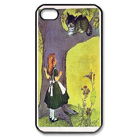 Schutzhulle Fur Iphone 4 4s Grinsekatze Alice Im Wunderland