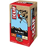 Clif Variety Bar 24 Count, 8 White Chocolate Macadamia Nut, 8 Chocolate Chip, 8 Crunchy Peanut Butter