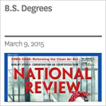 B.S. Degrees | Kevin D. Williamson