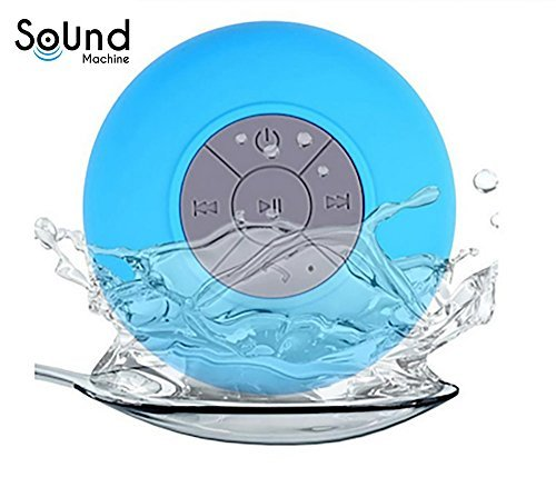 Sound Machine Waterproof Bluetooth Shower Speaker - Water Resistant with Bluetooth 3.0 That Is Handsfree and Portable. Eliminate Your Headphones Now! 100% Satisfaction Guaranteed!