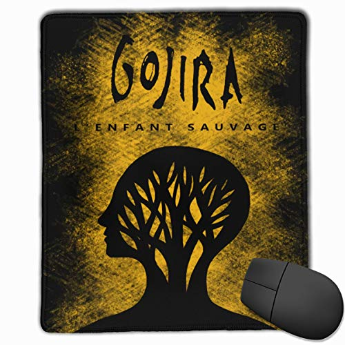 Edmundy Gojira L'enfant Sauvage Mouse Pad with Precision Hemming for Work & Gaming, Office & Home.
