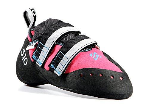Five Ten Women's Blackwing Climbing Shoe,Pink/Blue,8.5 M US