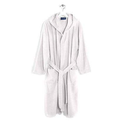 Caleffi - Albornoz fabricado en tejido de toalla. Modelo: Arcobaleno. Gramaje: