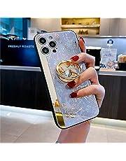 voor iPhone 12 11 Pro Max X XR 7 8 Case Girly Leuke Bling Shockproof Spiegel Vlinder Case-Purple_voor iPhone XR