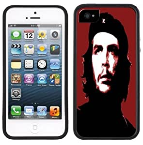 Che Guevara Handmade iPhone 5 Black Bumper Plastic Case