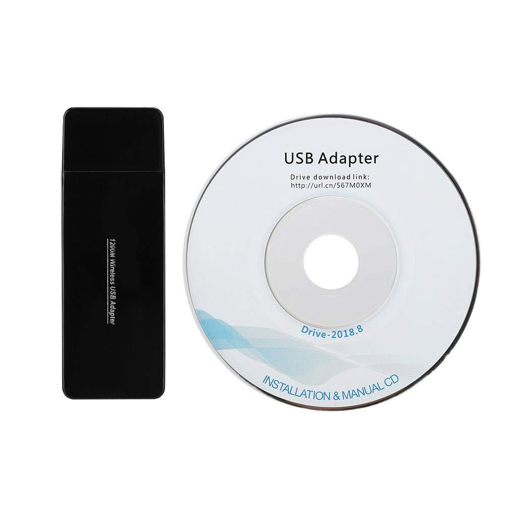 Kafuty 1200M 2.4GHz / 5.8GHz Tarjeta de Red WiFi inalámbrica ...